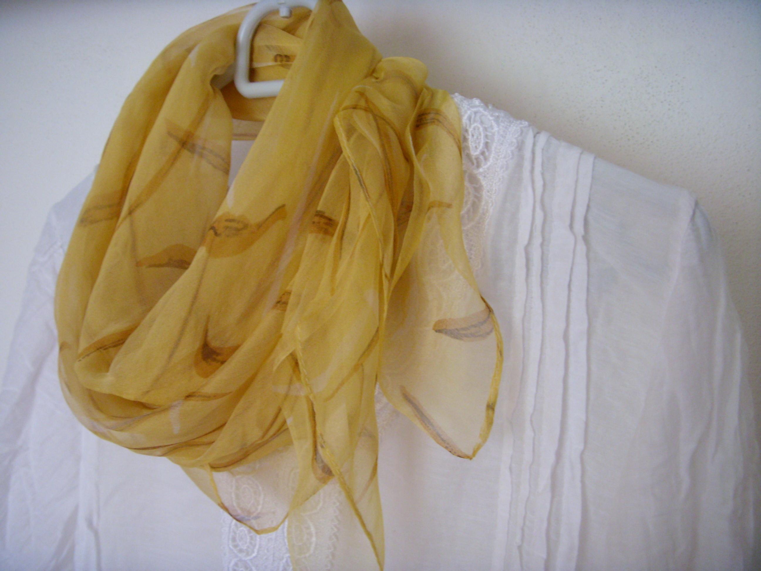 bcc5158a455 Velký hedvábný šátek--1