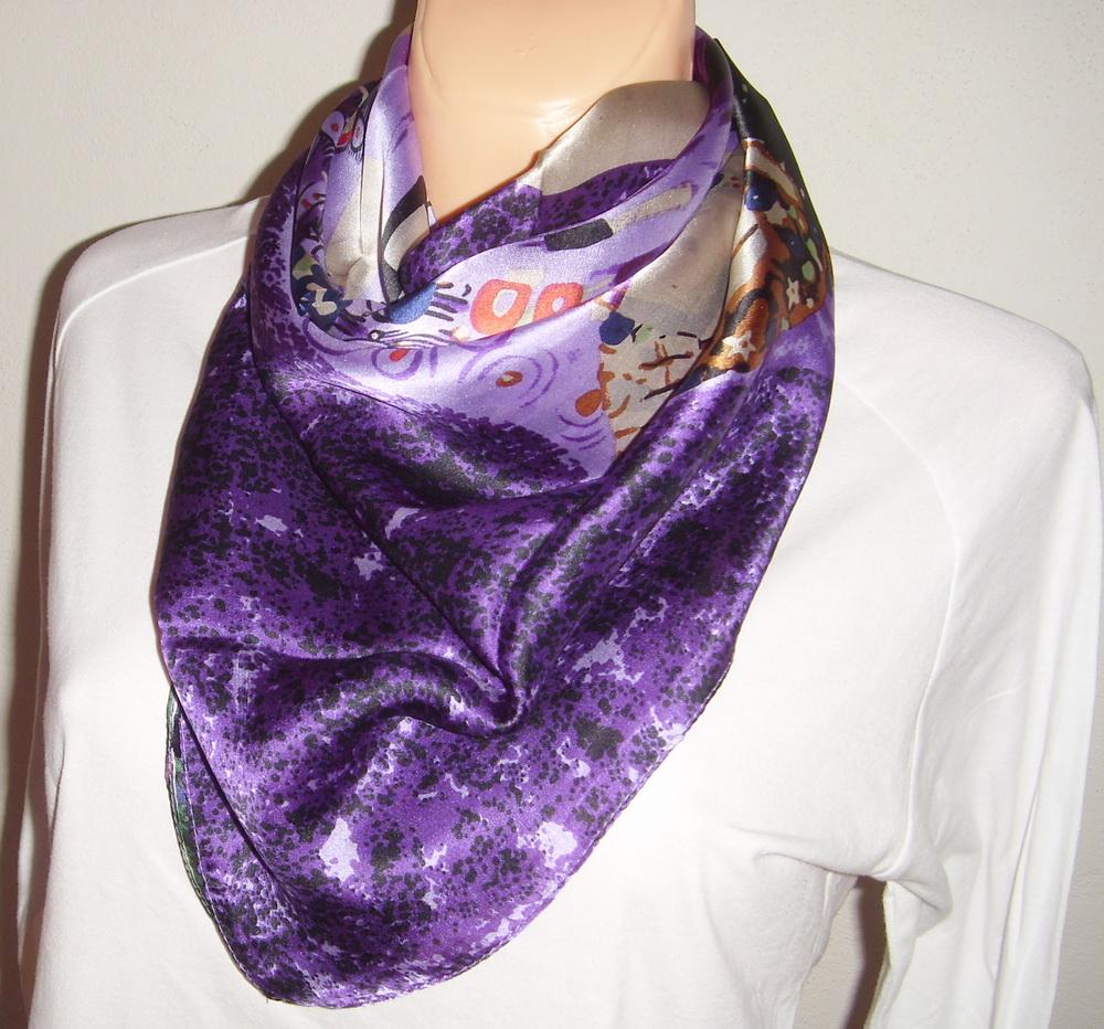 db3e626488e Velký hedvábný šátek----láska