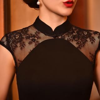 6682905348d2 Čínské šaty cheongsam a černá krása